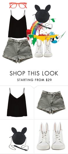 """""""Hop to it"""" by mindpearl ❤ liked on Polyvore featuring Raey, American Apparel, Disney and Minna Parikka"""
