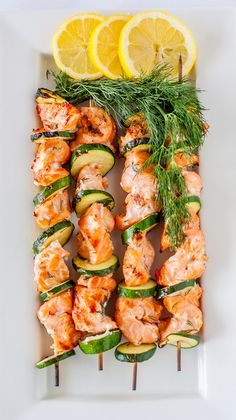 Barbecued Lemon Dill Salmon by Matthew Ivan, via Behance