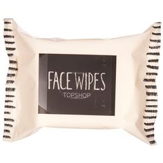 TOPSHOP Facial Wipes ($3.71) ❤ liked on Polyvore featuring beauty products, skincare, face care, makeup remover, makeup, beauty, fillers, cosmetics, accessories and topshop