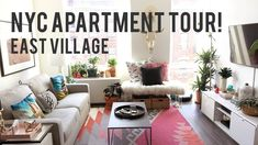 NYC East Village Apartment Tour - YouTube