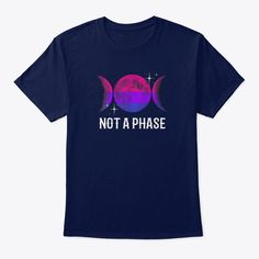 Discover Not A Phase Bisexual Flag Lgbt T-Shirt, a custom product made just for you by Teespring. - Not A Phase Bisexual Flag Shirt LGBT Bi Gay. Human Flag, Moon Tapestry, Lgbt T Shirts, Gay Pride, Transgender, Leo, Wolf, Just For You, Unique