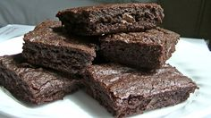 Gluten-Free Double Chocolate Brownies.