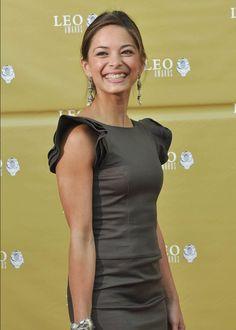 Kristin Kreuk on 2010 Leo Awards Red Carpet.