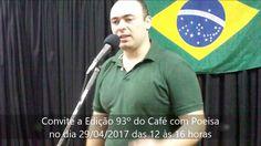52 #Convite ao próximo encontro - Alexandre Jazara - Café com Poesia 92ª...