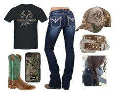 Designer Clothes, Shoes & Bags for Women Cowgirl Style Outfits, Country Style Outfits, Southern Outfits, Country Wear, Western Outfits, Cowgirl Fashion, Country Shirts, Country Music, Cute Teen Outfits