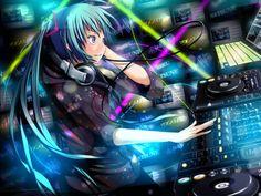 Hatsune Miku Anime HD Desktop Wallpaper Vocaloid