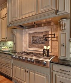 "Backsplash for Sink - ""picture frame"" a tile pattern"