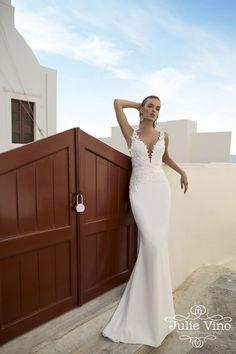 Julie Vino Santorini Bridal Collection Fall 2016 | itakeyou.co.uk #weddingdress