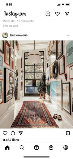 Gallery Wall Staircase, Sunroom, Game Room, Outdoor Spaces, Oversized Mirror, New Homes, Stairs, Frame, Interior