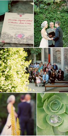 Colorful, Chic Los Angeles Wedding