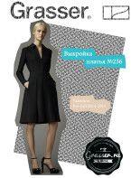 Выкройка платья, модель №236, магазин выкроек grasser.ru