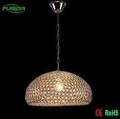 Modern home crystal 3 lights Round Chandelier pendant lighting for Home