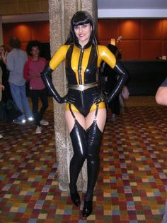 Silk Spectre from Watchmen.   Loved the movie and Malin Akerman in the role.  Nobody could have filled that costume better.