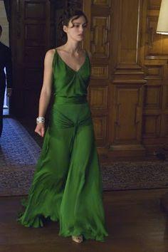 """Atonement"" iconic emerald dress"