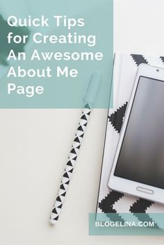 When you write this page, think about what visitors may want to know about you. Who are you? Why are you writing this blog? What are your credentials? How do you know about the subject of your blog? Quick Tips for Creating An Awesome About Me Page - Blogelina