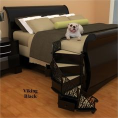 Going To The Dogs Worlds First Spiral Pet Stairs