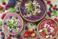 Få en sund start på dagen med en smoothieskål | Costume.dk