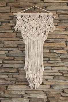 A uniquely handmade macramé wall decor piece, this piece features natural wood adding a touch of Bali to your home. This macramé is handmade and may differ slightly in design. Room Decor, Wall Decor, Heart Wall, Wall Patterns, Natural Wood, Peonies, Macrame, Sparkle, Range