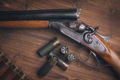 Qual é a origem das armas de fogo?