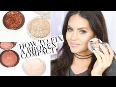 Beauty Hack: How to Fix a Broken Compact | Glam Latte
