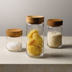 Pantry Glass Jar - Large | The White Company