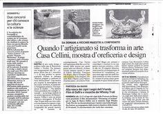 Artigiani in fiera a Casa Cellini. Master's Degree