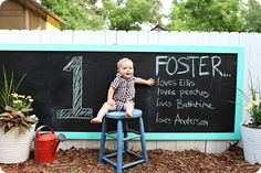 Chalkboard placement and design