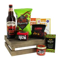 Super Man Beer & Spice Meal Mate Crate fantastic gift ideas with free delivery direct from www.serendipityhomeinteriors.com