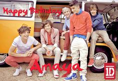 World of Pinatas - One Direction Personalized Poster, $16.99 (http://www.worldofpinatas.com/one-direction-personalized-poster/)