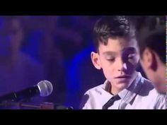 Adrian Martin Vega Sonia Cantan la Cancion que Bonito - YouTube