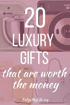 Gifts that are gorgeous and luxurious to give, yet aren't all expensive gift ideas. This luxury gift guide will show you luxurious gifts to give and gift ideas for elegant people. Take a look at these 20 luxury gifts that are worth the money. Luxury Gifts For Women, Unique Gifts For Men, Gifts For Dad, Gift Ideas For Women, Expensive Gifts For Men, Nice Gifts, Fun Gifts, Creative Gifts, One Of Us