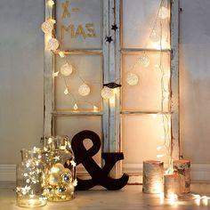 Lichterketten sorgen für eine gemütliche Stimmung #Lichterkette #Weihnachten #XMAS