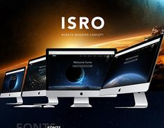 """Check out new work on my @Behance portfolio: """"ISRO Website Concept"""" http://be.net/gallery/50580653/ISRO-Website-Concept"""