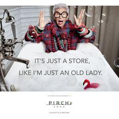 Iris Apfel in an ad campaign for Pirch - pirch-new-york-showroom-04.jpg