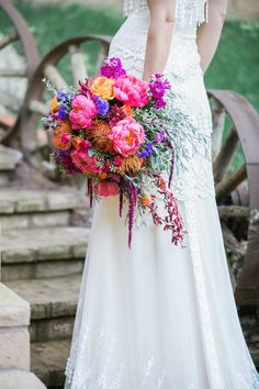 Bright & Colorful Bouquet | Sweet Blooms Photography | see more at http://fabyoubliss.com