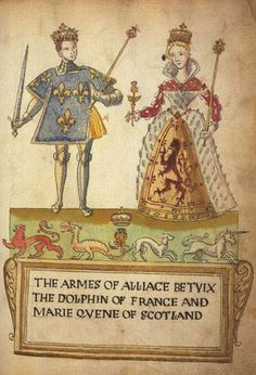 24 April 1558-Mary queen of scots married François II