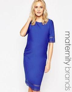 New Look Maternity Laser Cut Dress