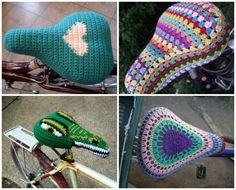 """Las """"ganchibicicletas""""   Lovely things by Pitusa"""