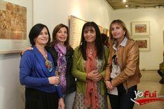 YoFui.com: Denise Blanchard, Marisol Mendizabal, Cayoya Cerda, Viviana Saavedra en Exposición de Denise Blanchard, Galería de Arte Isabel Aninat, Santiago (Chile)