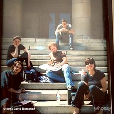 10 seasons later. @BONESonFOX throw back Thursday on the steps. Thurs Sept25th 10th season begins! #Back