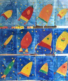 Ides Bricolage Sur Le Thme De Lespace Maternelle