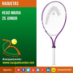 Visitanos en: http://www.racquetcenter.net/  Nombre del producto: Head Maria 25 Junior  Características del producto Weight 210 g - 7.4 oz Beam 18,5 mm Head size 690 cm² - 107 in² Length 635 mm String pattern 16/19 Colors purple/white #Head #racquetcenter #Tennis #Tenis #GrapheneSpeed #Graphene #Racquet #Raqueta #Caracas #Venezuela