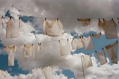 Typically Dutch: hanging your laundry to dry in the outdoors. Since rain is a close friend over here, be mindful of the weather if you actually like your clothes to get dry. #greetingsfromnl
