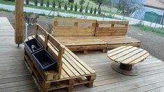 pallet outdoor furniture ideas,make by arnaud barsotti