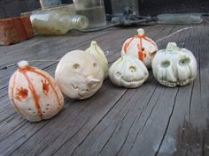 Pumpkin Party by Oxide Pottery. Porcelain and underglaze- fired to cone 6 in an electric kiln.