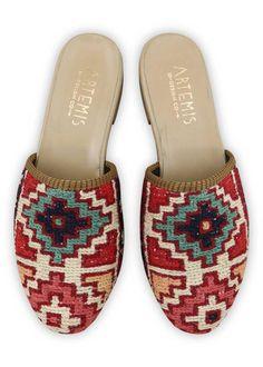Women's Kilim Slides | Artemis Design Co. Daily Walk, 4 Inch Heels, Artemis, Cobbler, Your Shoes, Short Skirts, Hand Weaving, Pairs, Womens Fashion
