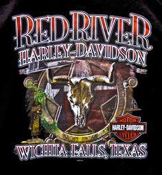 80 39 s harley davidson t shirt man 39 s best friend battle for Tattoo shops in wichita falls tx