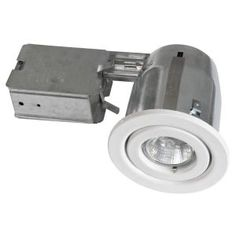 BAZZ 300 Series 4 in. White Halogen Recessed Lighting Kit (10-Pack)-300-130M at The Home Depot