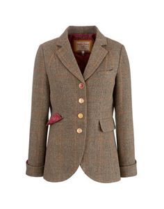 MELBURY - Womens Tweed Jacket in Coats & Jackets at the Joules Clothing