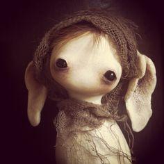 art doll | sculpture | stone clay | oddity | Echoes Keka❤❤❤